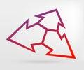 Graphic element arrow