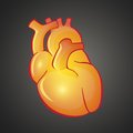 Graphic illustration of Heart Stock Photography
