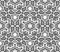 Graphic moroccan ornament in vector Royalty Free Stock Images