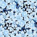 Graphic sakura pattern