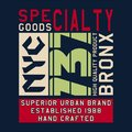 Graphic SPECIALTY GOODS NYC
