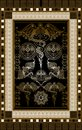 Graphical illustration of a Tarot card 3 Royalty Free Stock Photo