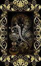 Graphical illustration of a Tarot card 2 Royalty Free Stock Photo