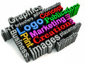 Graphics branding concept Royalty Free Stock Photos