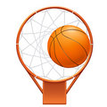 Graphisme de basket-ball Photographie stock libre de droits