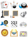 Graphismes de jeux Photo stock
