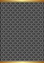 Graphite background textured vector illustration Royalty Free Stock Photography
