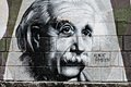 Graphite of Einstein Royalty Free Stock Photo