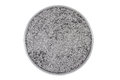 Graphite powder mirror in a glass on white background Stock Image