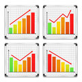 Graphs Royalty Free Stock Photo