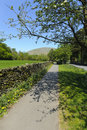 Grasmere Footpath Stock Photos