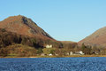 Grasmere and Helm Crag, English Lake District. Royalty Free Stock Photo