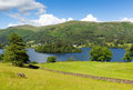Grasmere The Lakes Lake District Cumbria England UK Royalty Free Stock Photo