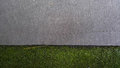 Grass with concrete walkway background. Royalty Free Stock Photo