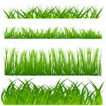 Grass decoration set Royalty Free Stock Photos