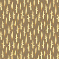 Grass field seamless pattern repetitive on yellow background illustration is in eps mode Royalty Free Stock Image