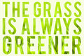 Grass is Always Greener Royalty Free Stock Photo