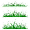 Grass silhouette Royalty Free Stock Image