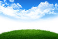Royalty Free Stock Photo Grass and sky world