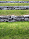Grass terraced Royalty Free Stock Photo