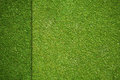 Grass texture on artificial golf field top view Stock Images