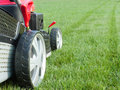 Grassmower Royalty Free Stock Image
