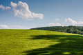 Grassy Hillside Stock Photo