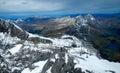 Grassy Lake at the Swiss Alps Royalty Free Stock Photo
