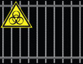 Grate biological hazard Stock Photo