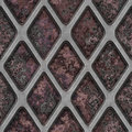 Grate on Granite Royalty Free Stock Photos