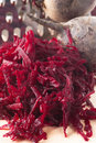 Grated Beet Royalty Free Stock Photography