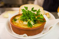 Gratin with seafood fish and bread crumbs Stock Photography