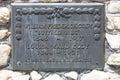 Grave marking of Buffalo Bill Royalty Free Stock Photo