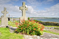 Grave site west coast ireland Stock Images