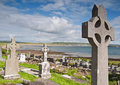 Grave site west coast ireland Stock Photography