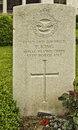 Grave stones at vimy ridge war cemetery vimy ridge france Royalty Free Stock Image