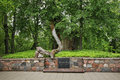 Grave of turaida rose in turaida near sigulda latvia Royalty Free Stock Images