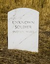 Grave of an Unknown soldier Royalty Free Stock Photo