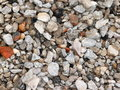 Gravel for background Stock Image