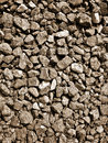 Gravel background detail of a Stock Image