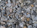 Gravel close up from a granite Stock Images