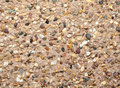 Gravel facade texture building surface wall Royalty Free Stock Photos