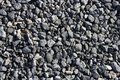Gravel gray stone textures for asphalt concrete Royalty Free Stock Photography
