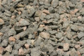 Gravel heap background Stock Photography