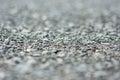 Gravel macro blurred gray nature