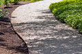 Gravel path Royalty Free Stock Photos