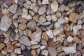 Gravel the photograph shows coarse Stock Photography