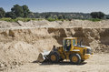 Gravel pit Stock Image