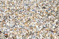 Gravel soil gravel floor covering Royalty Free Stock Images