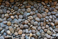 Gravel stone decorative floor pattern of a Royalty Free Stock Photography